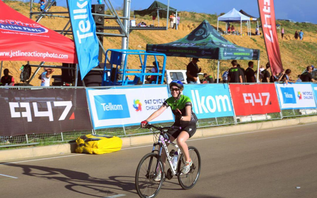 Volcan bikes representing at the Telkom 947 Cycle Challenge