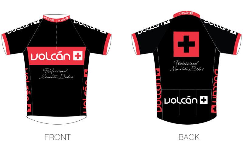 Volcan Team Cycling Jersey